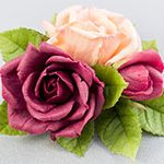 Зажим для волос ТРИ Розы