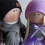 Куклы пара Влюбленные