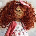 Кудрявая кукла