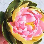 Резинка цветок Пион