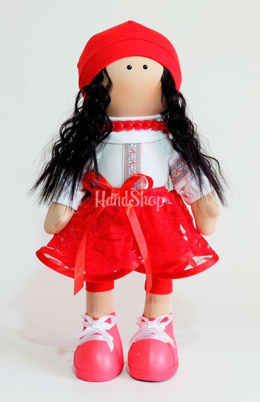 Кукла большая текстильная в вышиванке Ukraine