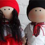 Пара украинские куклы
