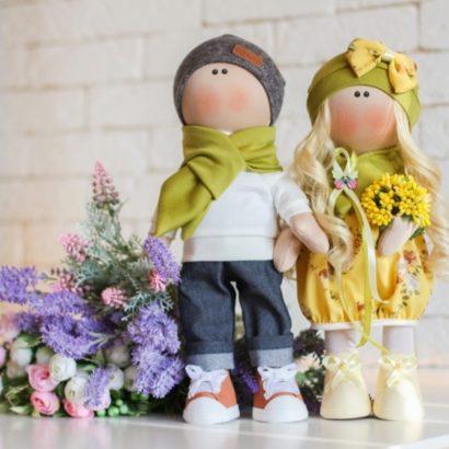 Куклы пара на свадьбу, годовщину