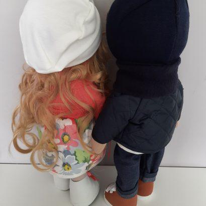 Авторские текстильные куклы пара