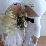 Эксклюзивные свадебные куклы – прекрасный свадебный подарок, остается на всю жизнь и будет индивидуальным декором дома