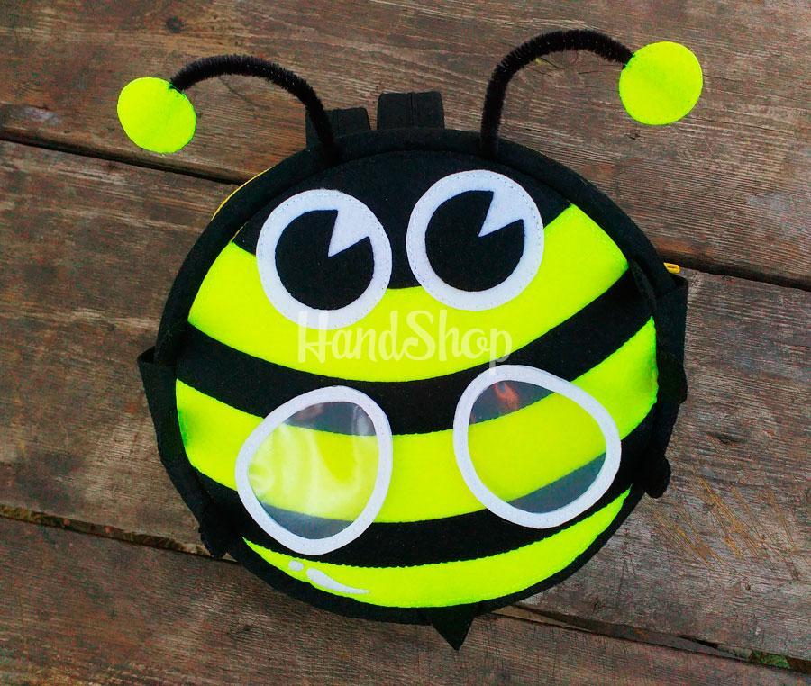Детский рюкзак своими руками пчёла