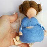 Куколка подвеска Ангел-Фея