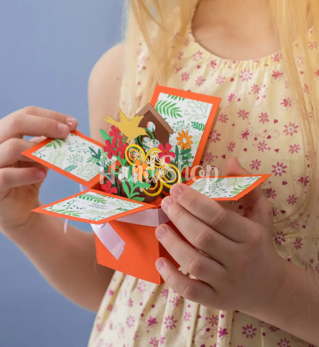 Эксклюзивная коробочка/открытка для мамы